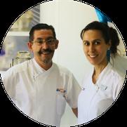 Javier Martínez y Sonia Pellitero